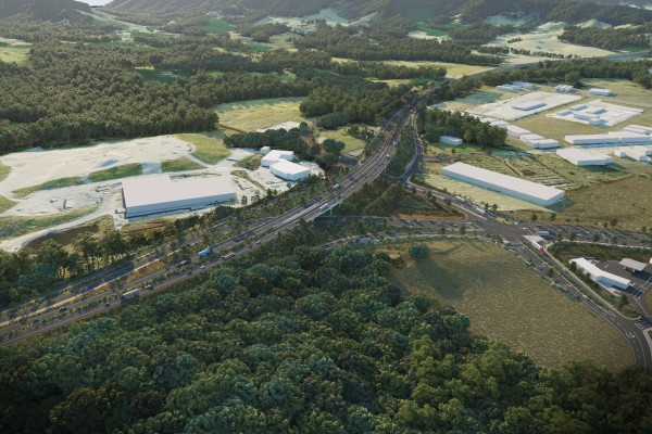 Artist Impression - Englands Road interchange
