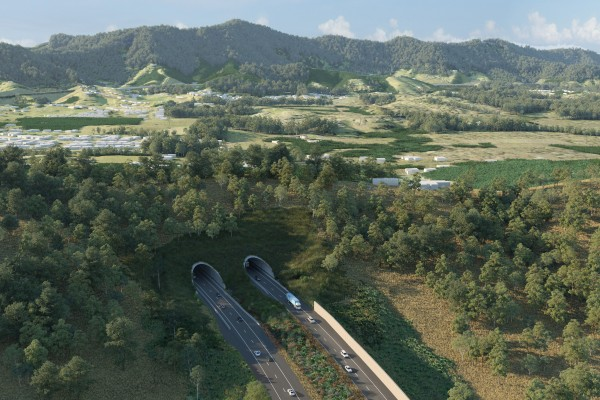 EIS Artist Impression - Roberts Hill tunnel
