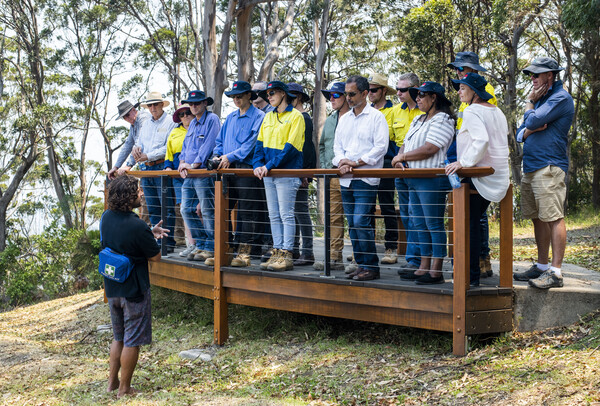 Coffs Harbour bypass project - cultural tour Sealy Lookout - December 2019 (image 4)