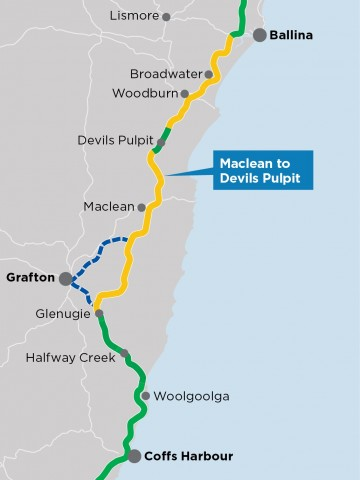 Maclean to Devils Pulpit | Pacific Highway Upgrade